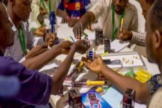 Youths in Nigeria trained