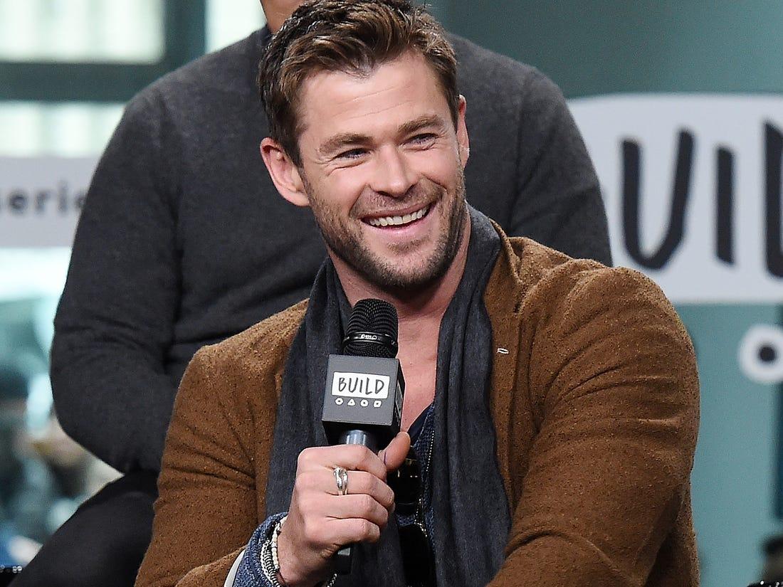 Chris Hemsworth speaks