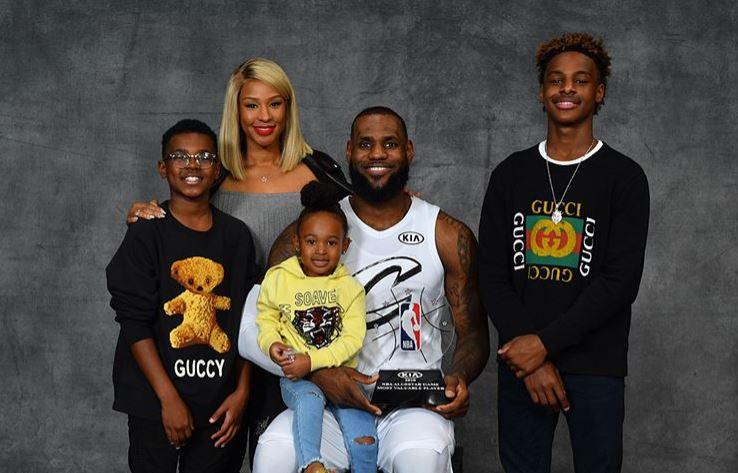 lebron-james-family