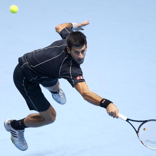 Novak tennic composure
