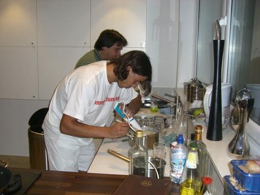 Rafa cooks