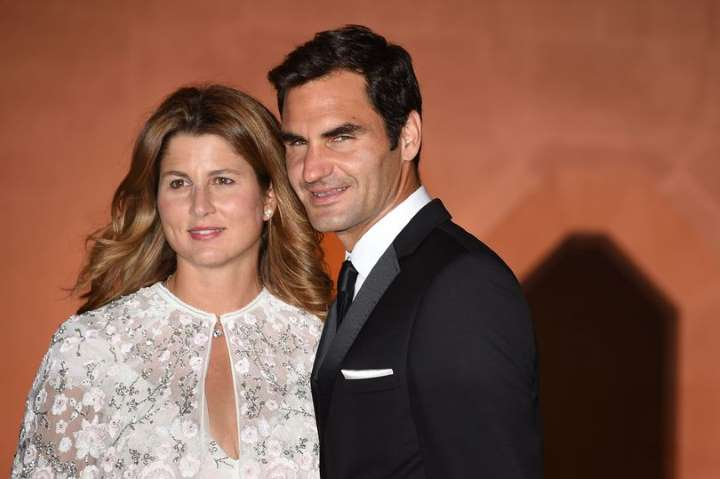 Roger and Mirka posed