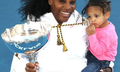 Serena and daughter