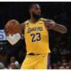 Lebron James ball act