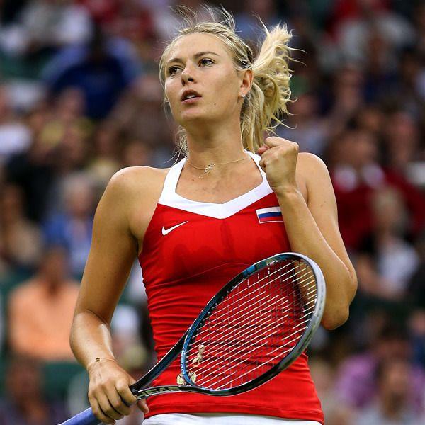 Maria Sharapova playing