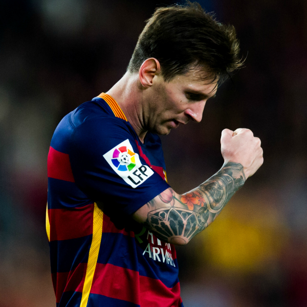 Messi on point