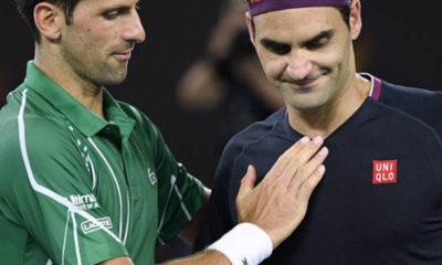 Novak ad Federer