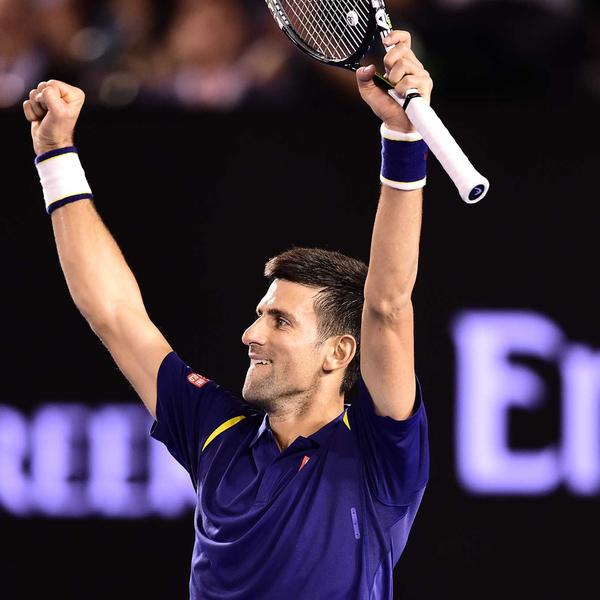 Novak in action