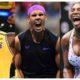Rafael Nadal and Serena Williams