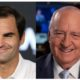 Roger Federer and Alan Jones
