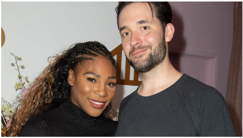 Serena Williams & Alexis Ohanian