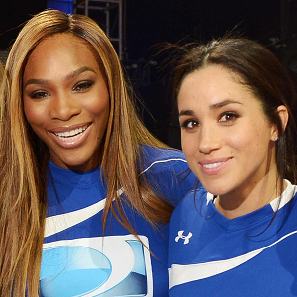 Serena and Meghan