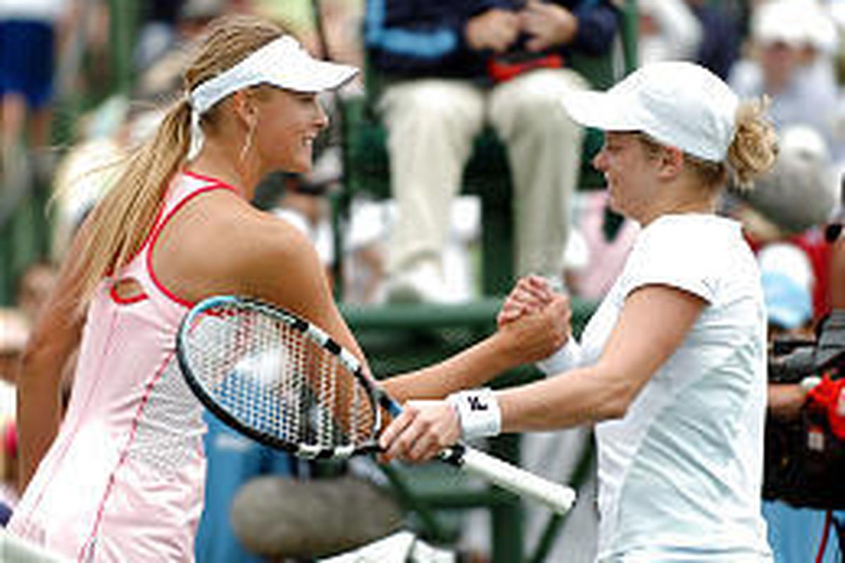 Sharapova and Clijsters
