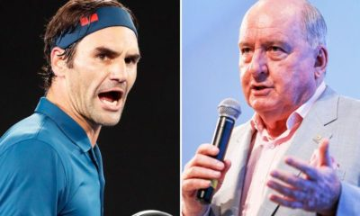 roger federer with alan jones