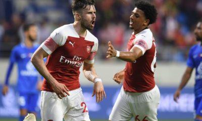 Arsenal losing