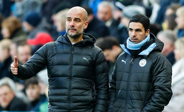 Arteta and Pep