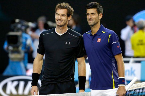 Djokovic, Murray