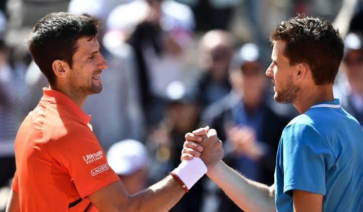 Djokovic and Dominic