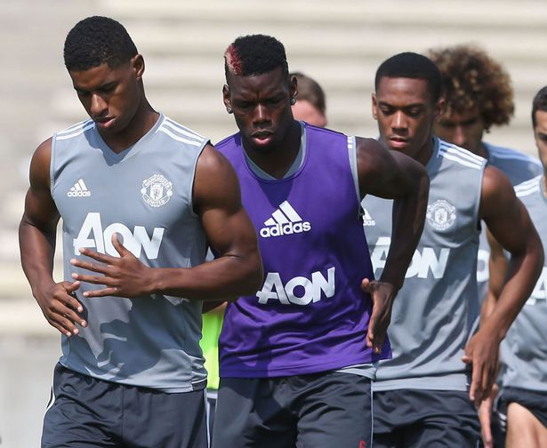 Manu in training