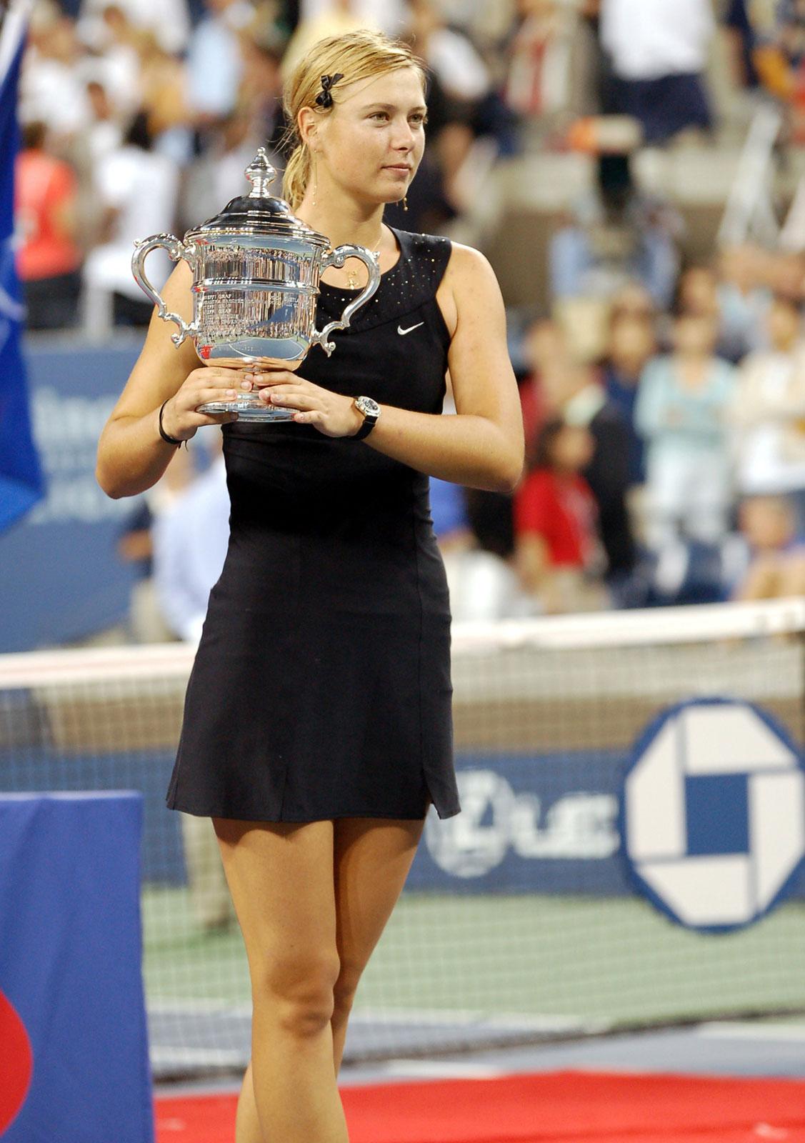 Maria Sharapova women singles event US Open 2006