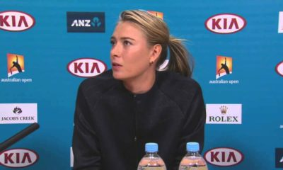 Maria Sharapova was banned for 15 months in 2016. (Source: Reuters)