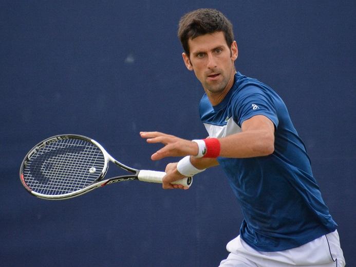 Novak Djokovic display