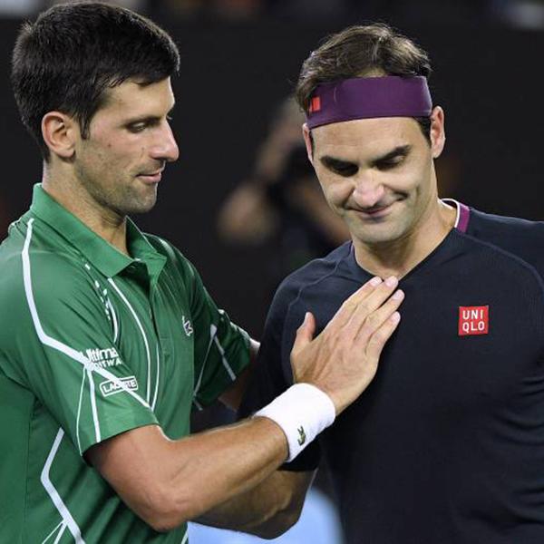 Novak and Federer