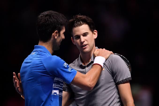 Novak and Thiem