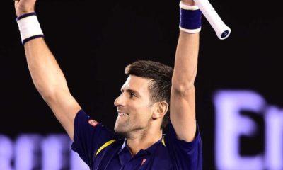 Novak in action