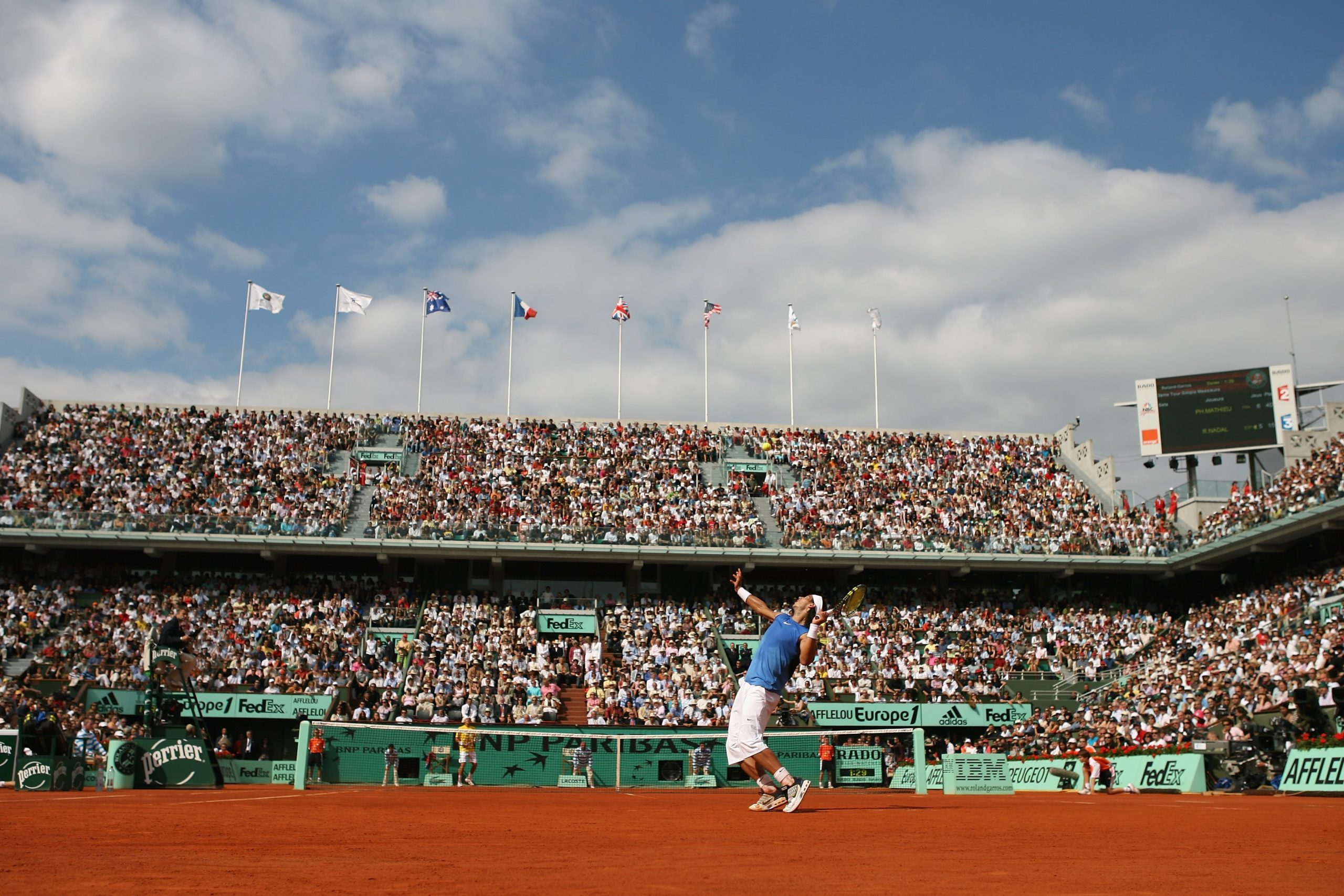 2006 French Open - Day Seven