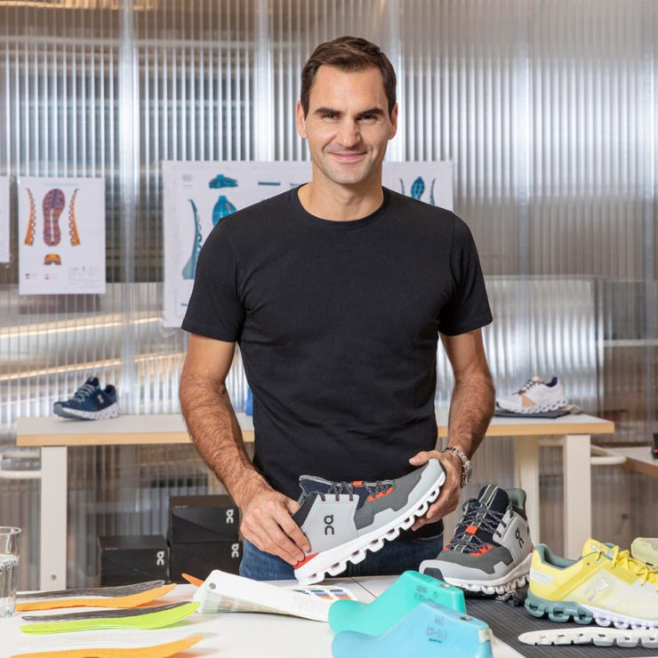Roger with Shoe