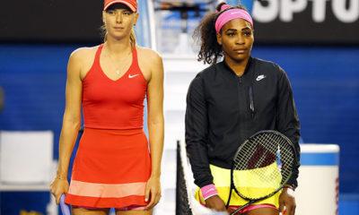 Sharapova and Serena
