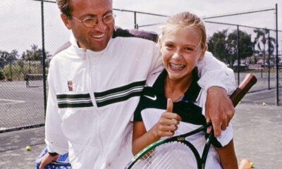Young Sharapova