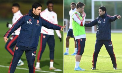 Pep Guardiola has given Mikel Arteta a hint of how Man City could line up against Arsenal