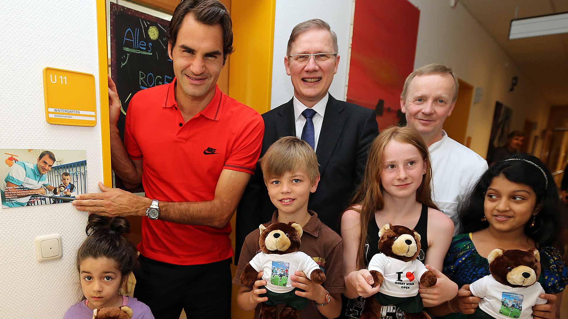 charity halle 2014 bethel federer