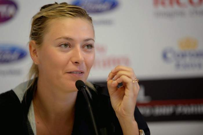 maria sharapova advising students