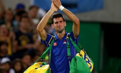 novak Djokovic cry