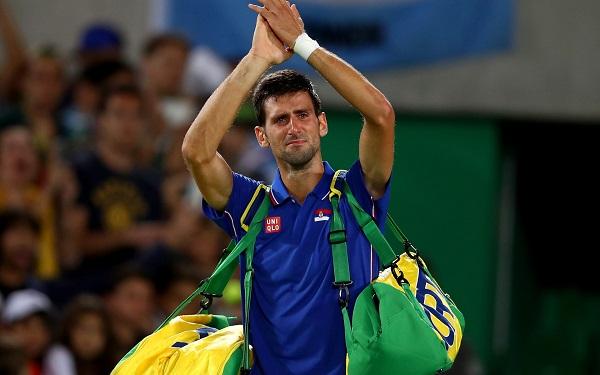 novak Djokovic cry