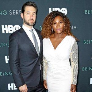 Serena and husband