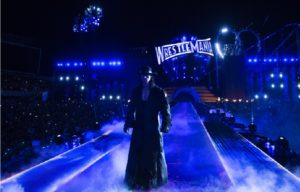 undertaker coming on stage