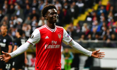 Bukayo Saka: A week I'll always remember after first Premier League goal for Arsenal