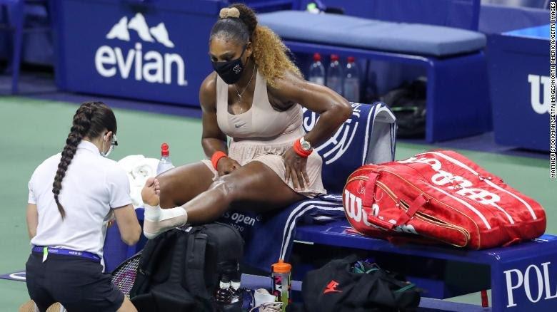 Serena williams defeats by Victoria Azarenka,