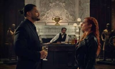 Roman reign and becky lynch in movie Rumble