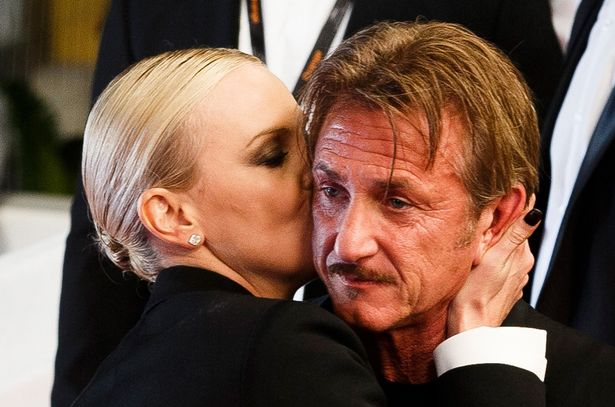 Charlize dated actor Sean Penn a few years ago