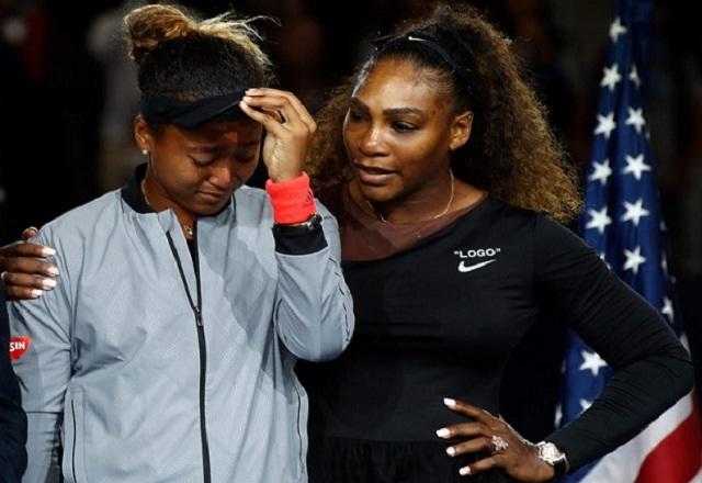 Serena Williams and Naomi Osaka tennis
